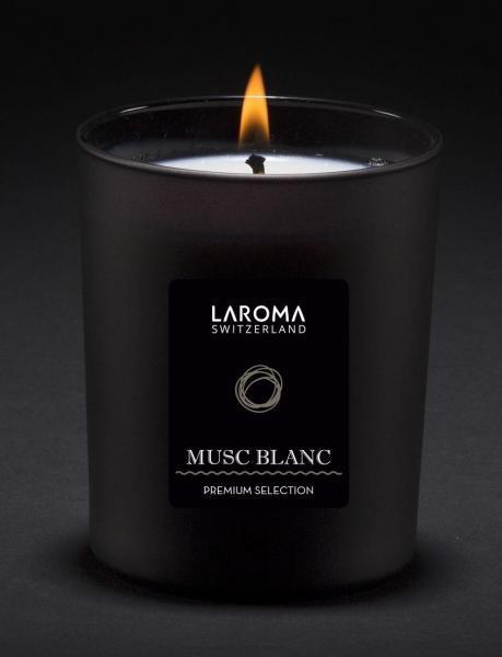 Musc Blanc Duftkerze Premium Swiss Selection,