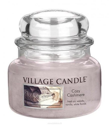 Cozy Cashmere 11oz 2-Docht Village Candle