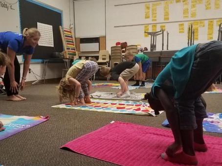 School Yoga Project Anecdotes