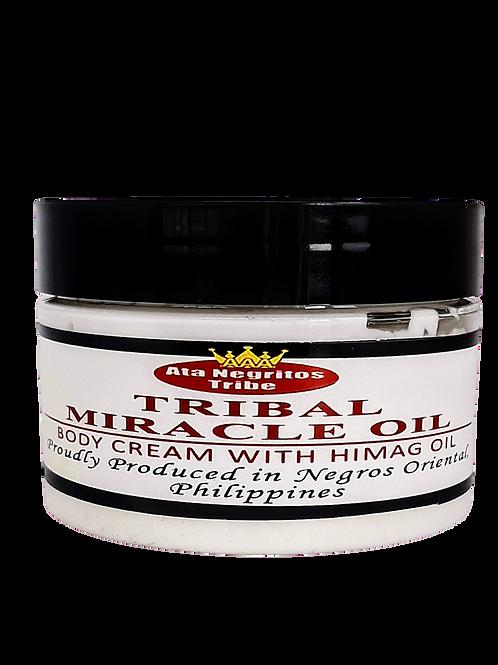Body Cream with Himag Oil - 300 g plastic jar.
