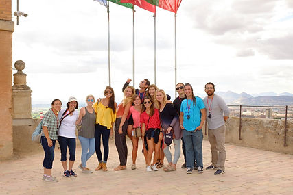 alex garza Abroad with students.jpg
