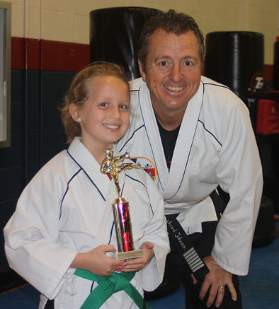 Richard Johnson Green Belt Girl With Tro