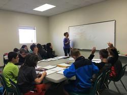 Tahrea Smith math class