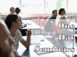 one day seminars slide