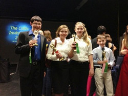 Competitive Theater team wins 3rd place at Celtic Invitational Speech Tournament