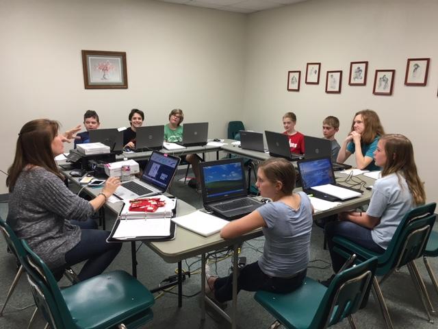 Sandra Gaiser computer class