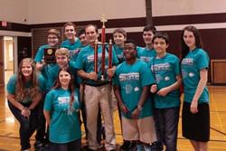 SHEILD Robotics won 1st place Texas BEST, capital hub fall 2016