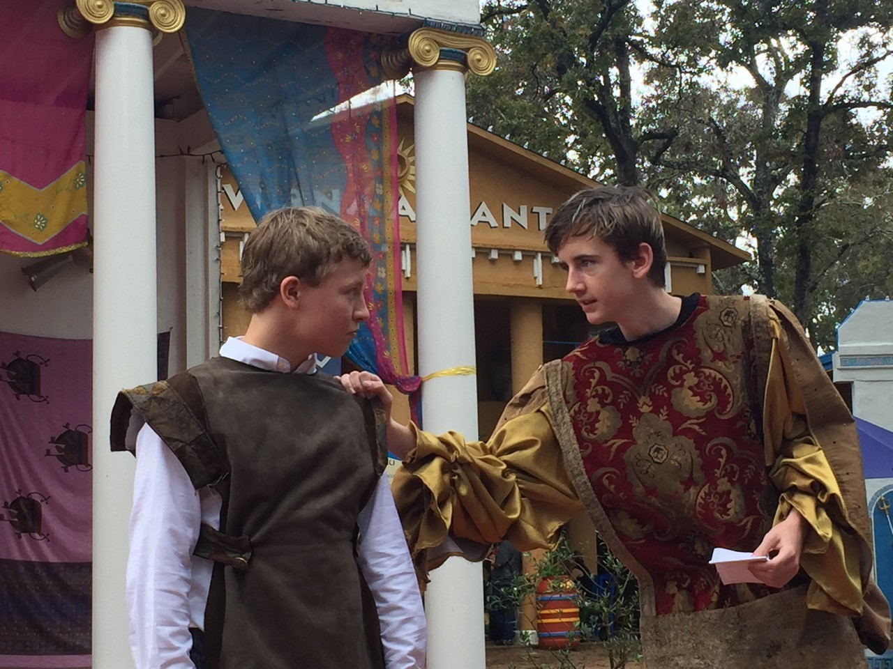 Senior High ODA Competitive Theater group wins 2nd place at Texas Ren Fest