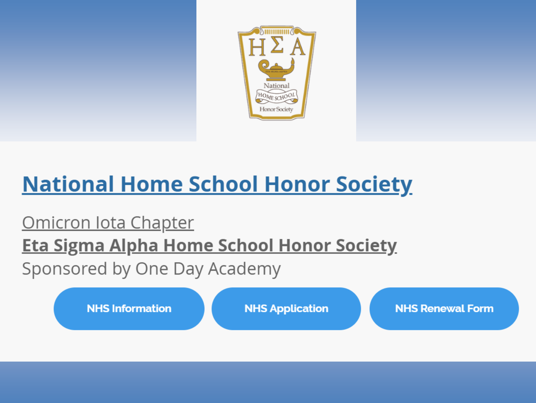 honor society slide