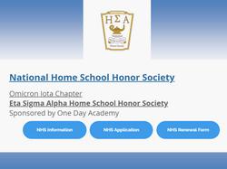 honor society slide