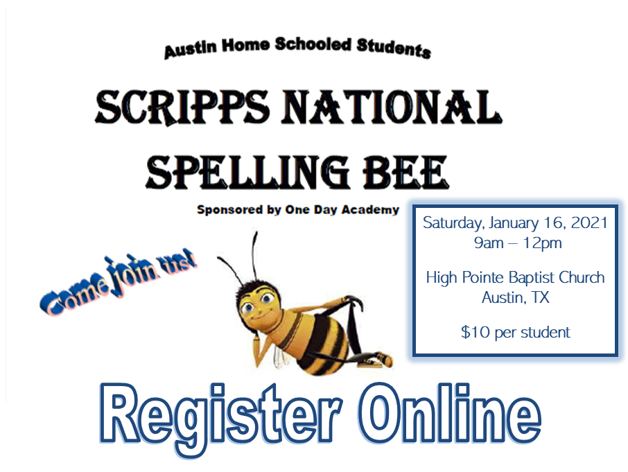 spelling bee slide