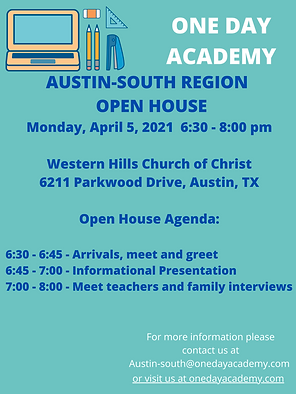 Open House 2021 Austin-South Region.png