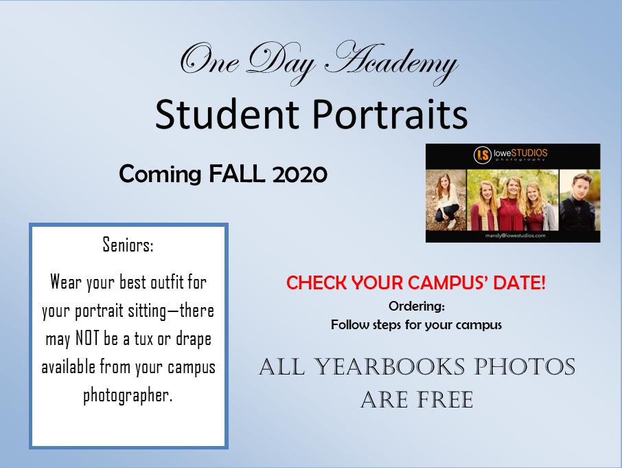 student portraits slide