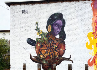 New Mural in Poughkeepsie, NY
