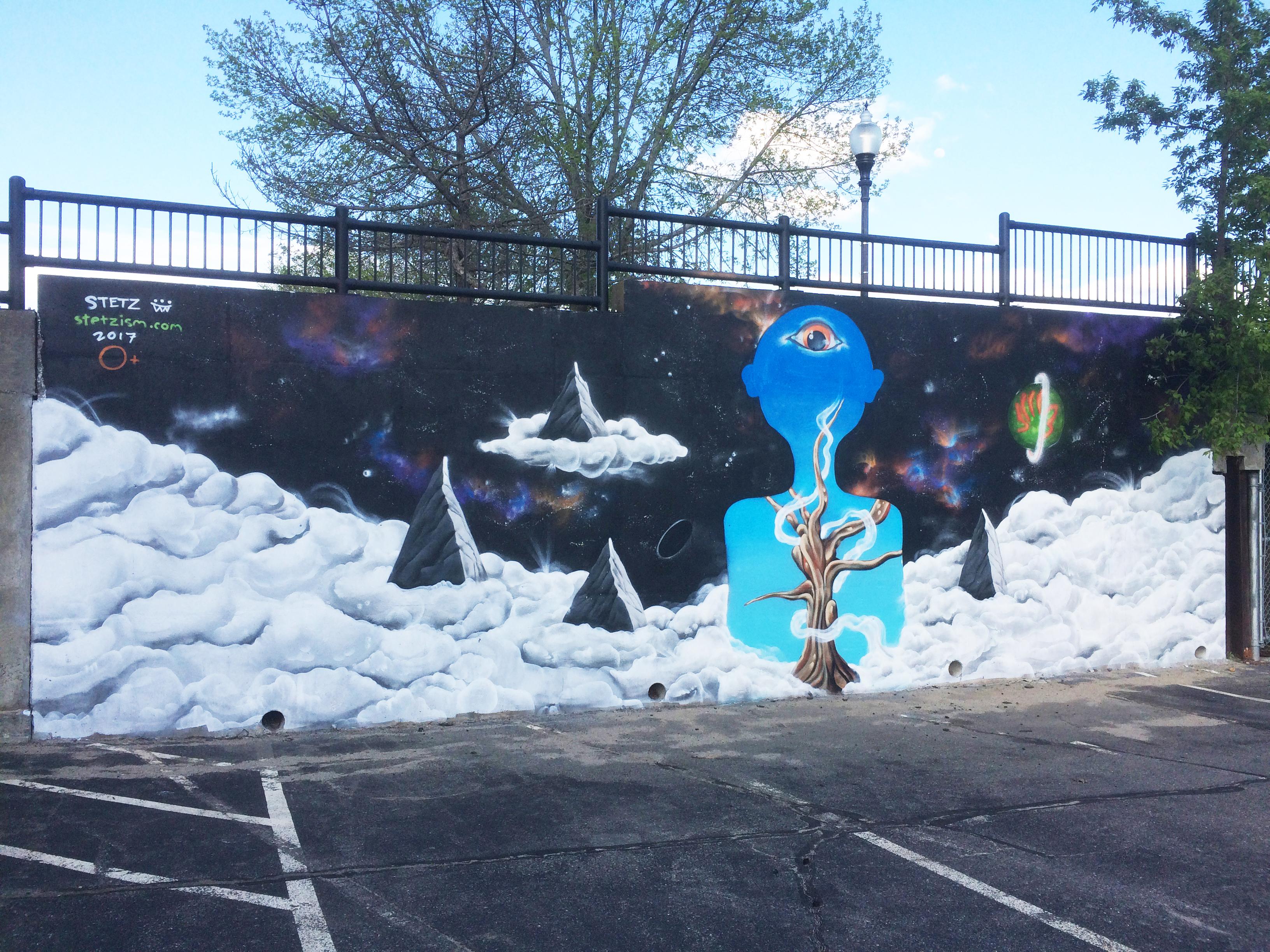mural in haverhill, Massachusetts
