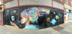 mural in Kingston, New York