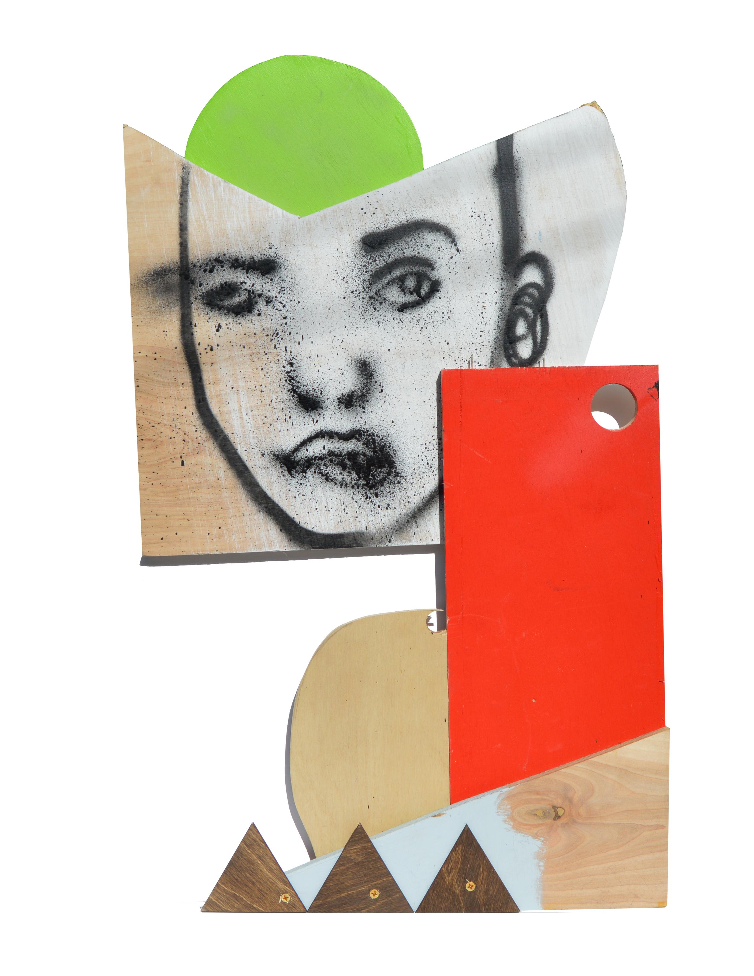 mixed media sculpture