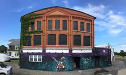 mural in New York