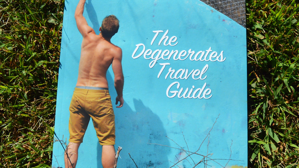 The Degenerates Travel Guide,  Zine