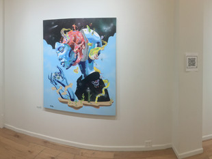 Exhibition Opening at Cryptic Gallery in Poughkeepsie, NY