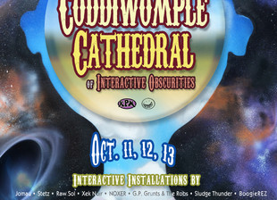 The Coddiwomple Cathedral of Interactive Obscurities