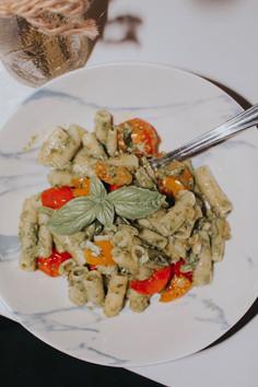 My Savory Vegan Pesto Pasta