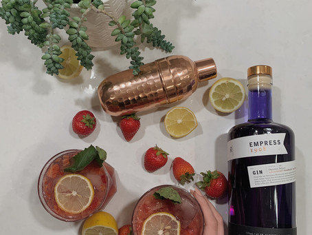 Gin Kombucha Cocktail with Empress Gin