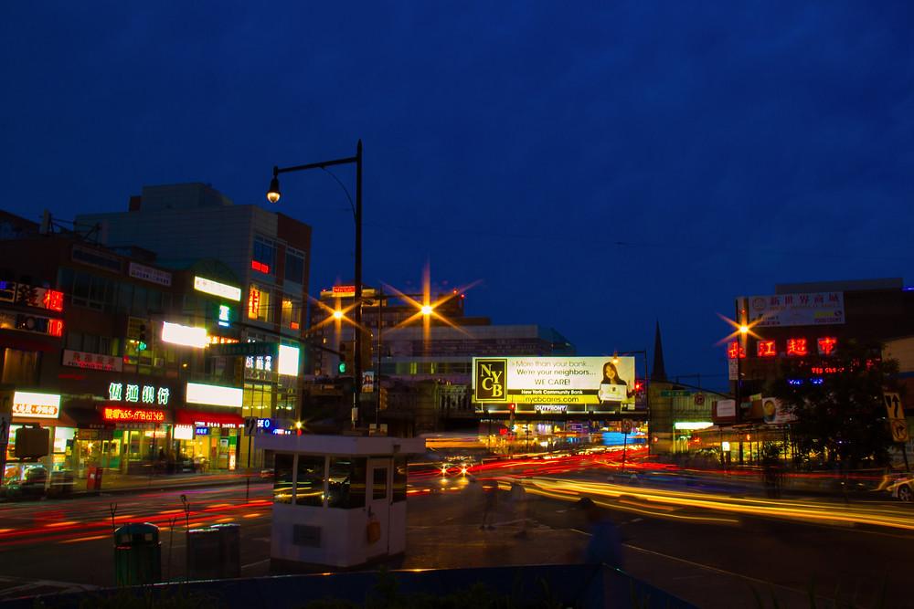 Downtown Flushing, Main St.