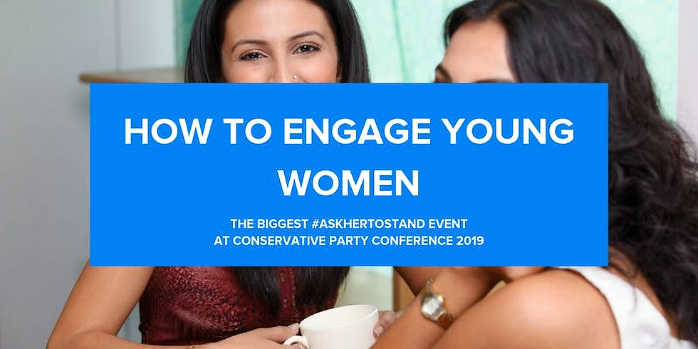 #CPC19 How to Engage Young Women Toolkit Launch