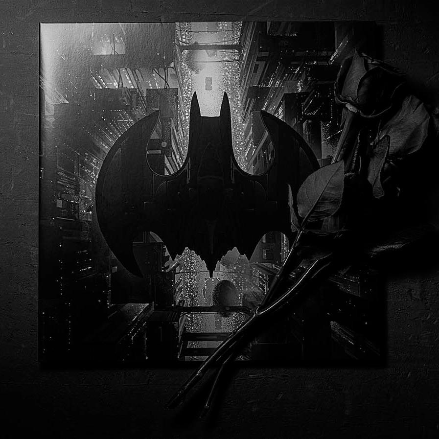 Vinyl Record of Batman 1989 Film Score by Danny Elfman