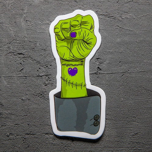 Monsters for Equality Sticker