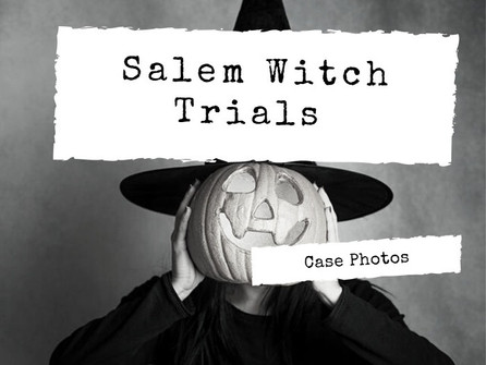 Let's Get Spooky In The Haunted Town of Salem, Massachusetts