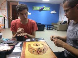 Тестируем игру в антикафе Баклажан