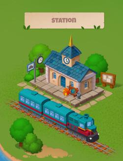 Локация: Станцияя