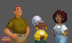 Некоторые персонажи игры