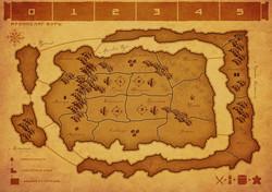 Карта Архипелаг Бурь (4 игрока)