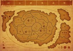 Карта Суровые земли (4 игрока)