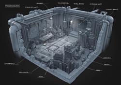 Концепт стартовой комнаты