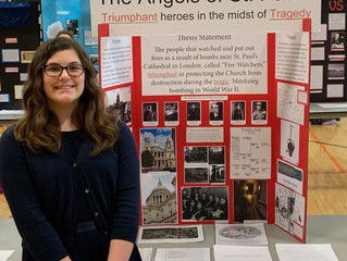 Maple Dale Students Compete in NHD Competition