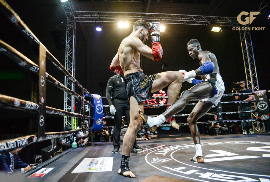 Nicolas Mendes VS Malik Aliane 1/2 Finale Golden Fight