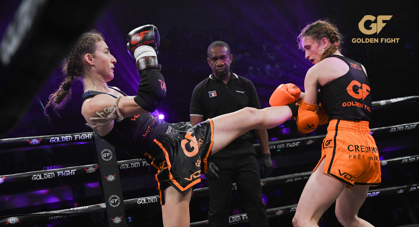 Fani Peloumpi VS Monika Chochlikova 1/2 Finale Golden Fight