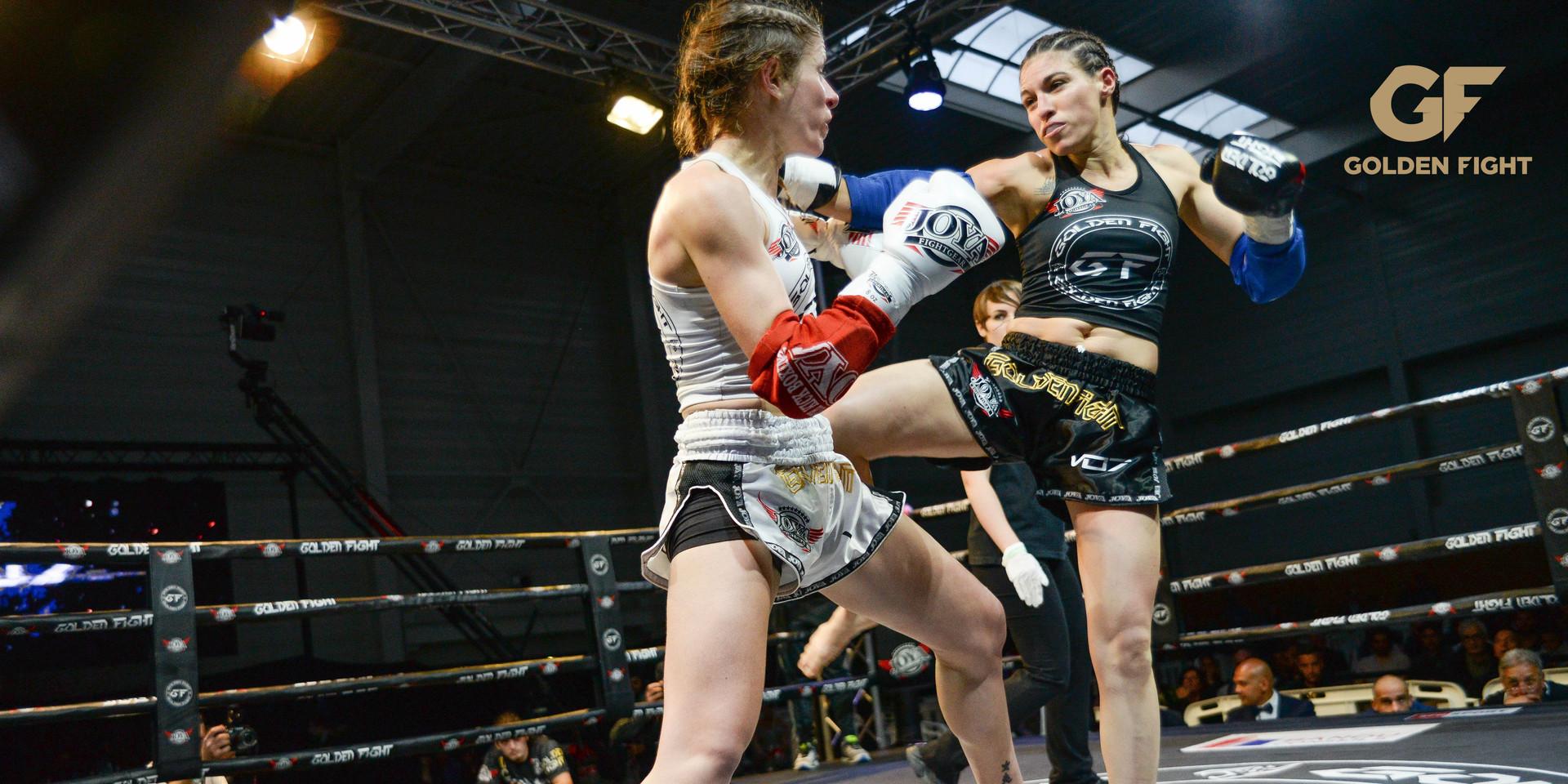 Katia Semail VS Filipa Correira ajouter 1/2 Finale Golden Fight