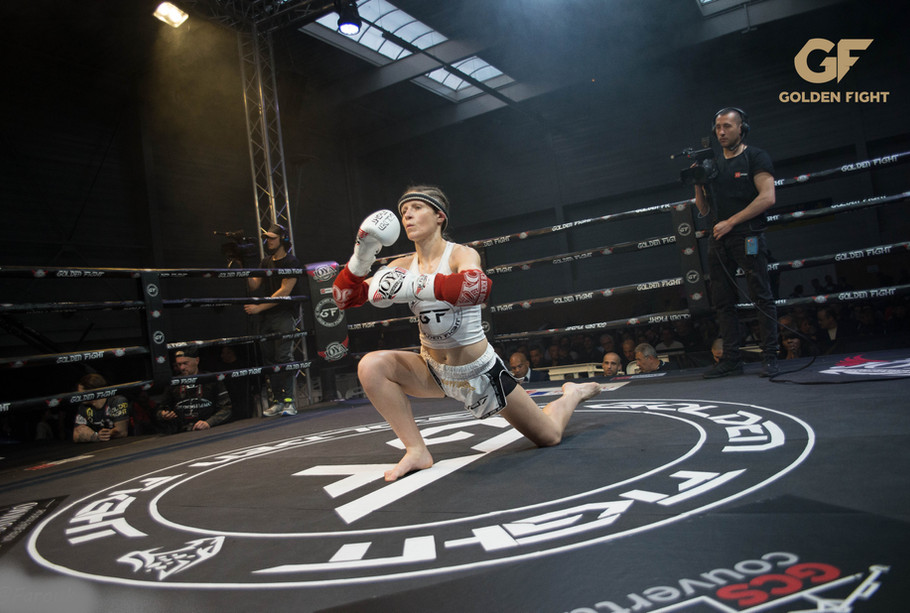Katia Semail VS Filipa Correira ajouter 1/2 Finale Golden Fight