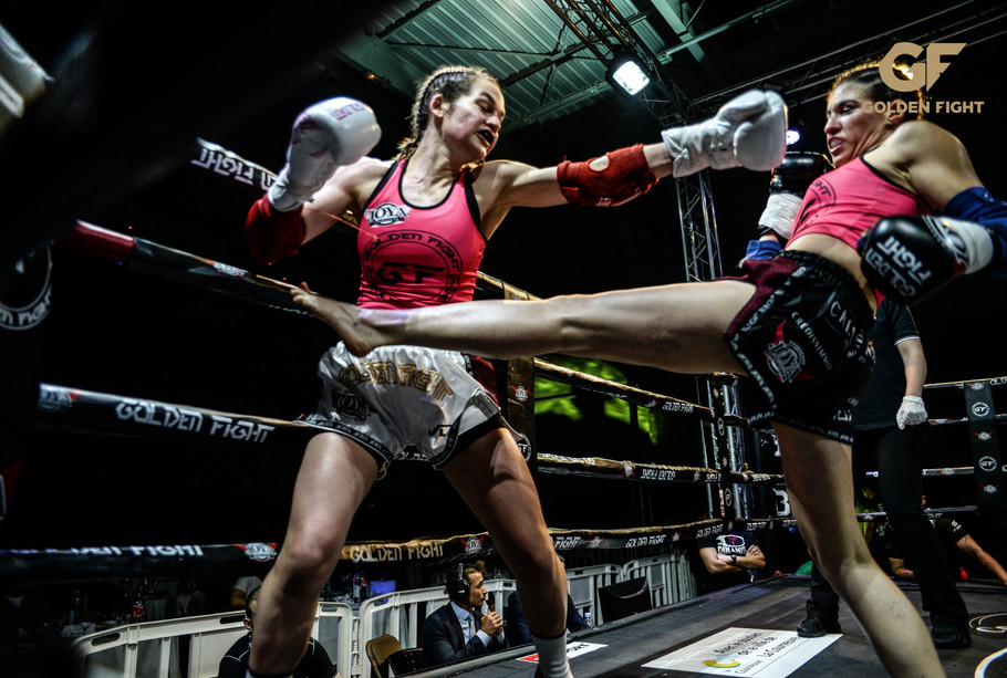 Soraya Bucherie VS Filipa Correira Finale Golden Fight
