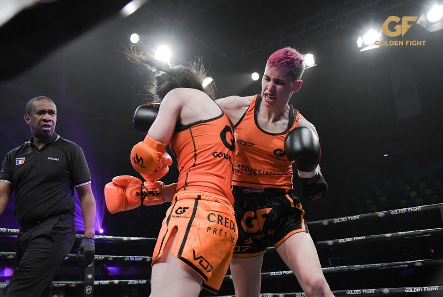 Maria Salome VSMyriame Djedidi 1/2 finale Golden Fight