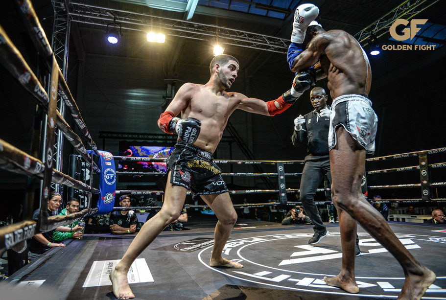 Adelino Boa Morte VS Hichem Menaouine 1/2 Finale Golden Fight