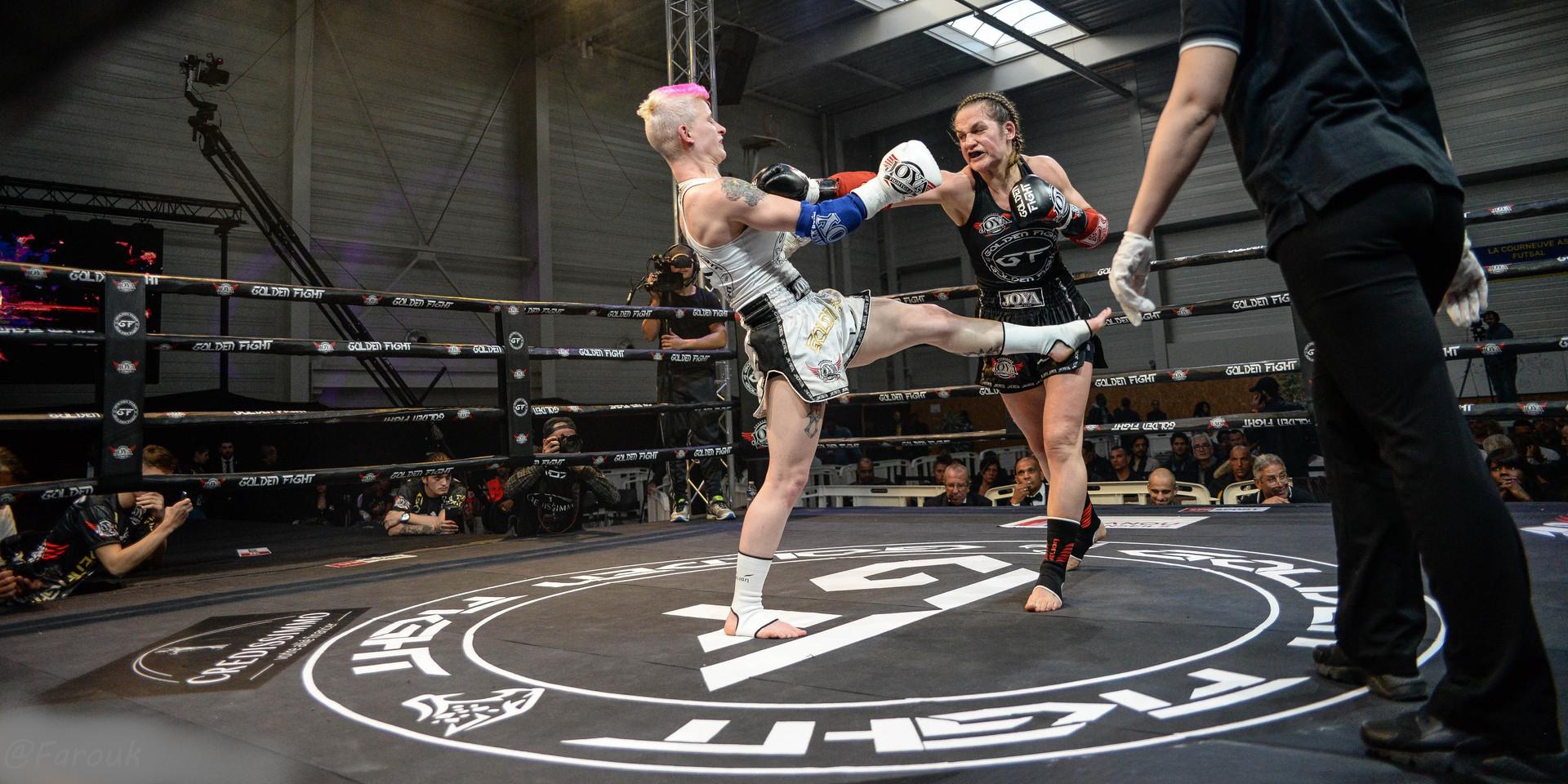 Cindy Silvestre VS Soraya Bucherie 1/2 Finale Golden Fight