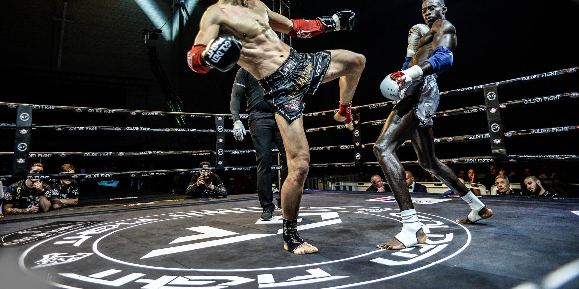 Nicolas Mendes VS Malik Aliane 1/2 Finale Golden Fight