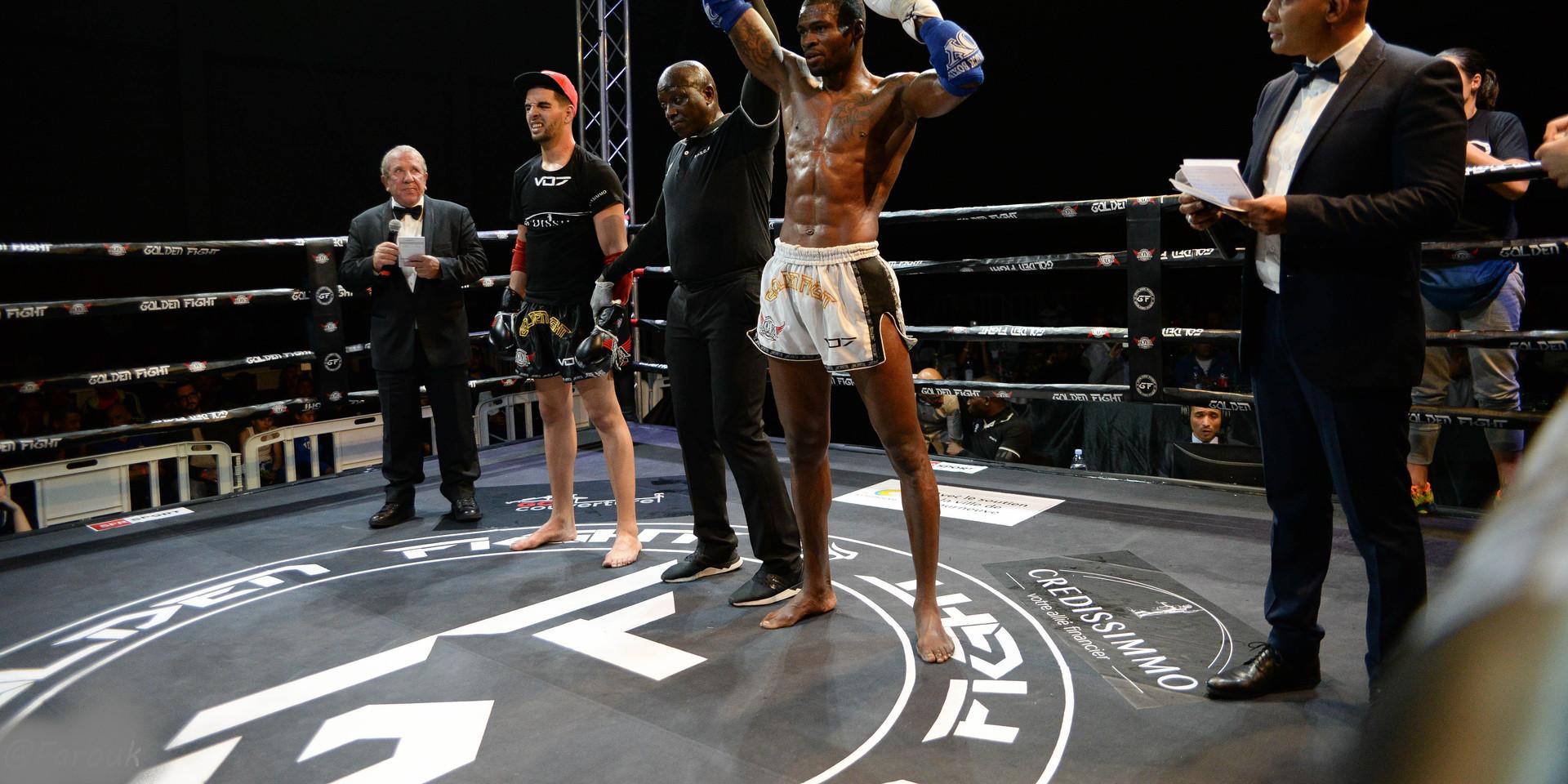 Adelino Boa Morte VS Hichem Menaouine 1/2 Finale Golden Fight