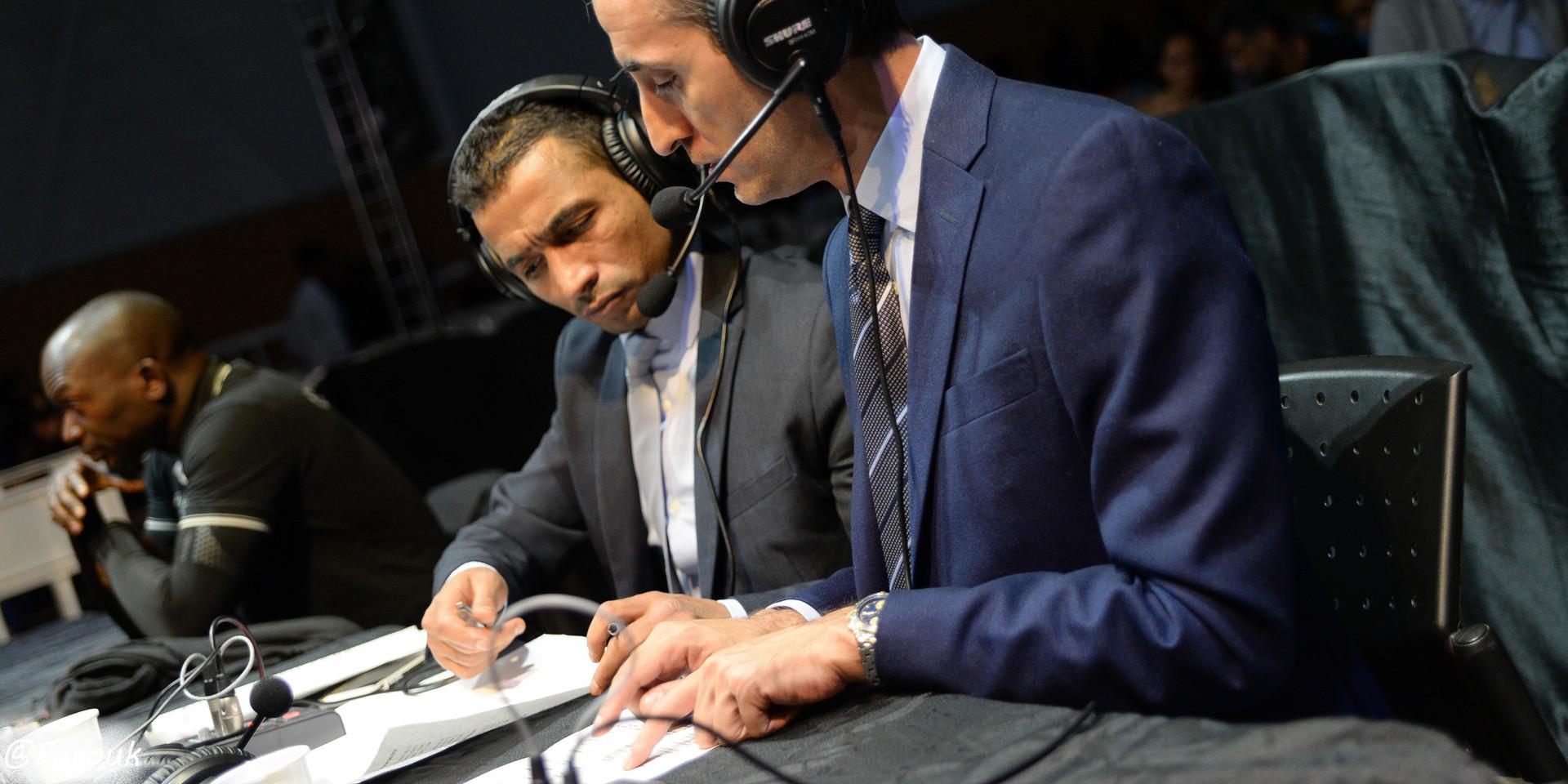 Les commentateurs RMC SPORT Kamel Kemili & Kamel Jemel